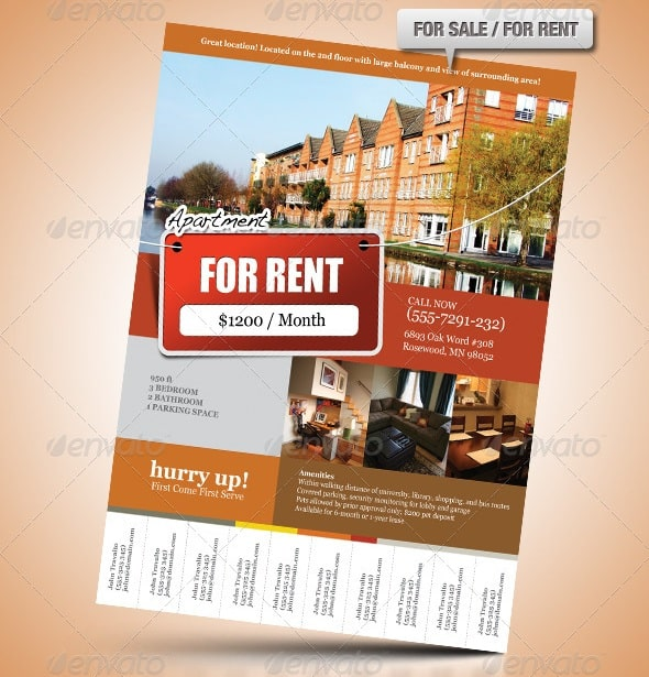 real estate flyer 4 Showcase of High Quality Real Estate Flyer Templates