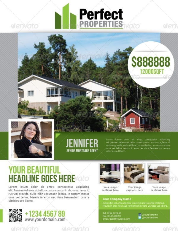 real estate flyer 5 Showcase of High Quality Real Estate Flyer Templates