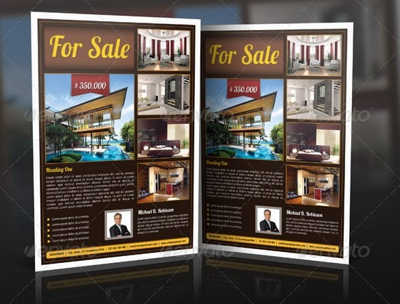 real estate flyer 7 Showcase of High Quality Real Estate Flyer Templates