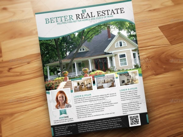 real estate flyer 8 Showcase of High Quality Real Estate Flyer Templates