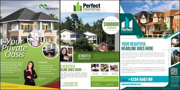 real estate flyer templates Showcase of High Quality Real Estate Flyer Templates
