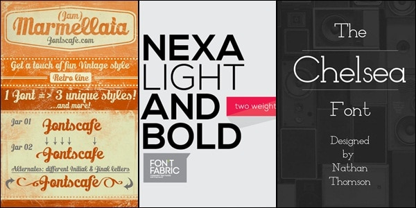 stylish free fonts Free Fonts: 50+ Stylish Fonts For Designers