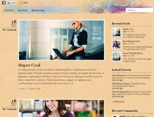 wpid 16free wordpress themes 2012 45+ Free WordPress Themes 