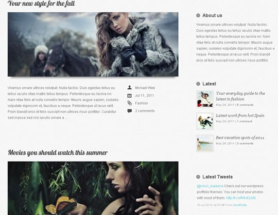 wpid 17free wordpress themes 2012 45+ Free WordPress Themes 
