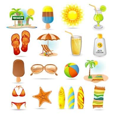 wpid 18free holiday icons 50+ Free Summer Holiday Icons For Designers