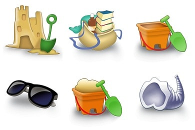 wpid 1free holiday icons 50+ Free Summer Holiday Icons For Designers
