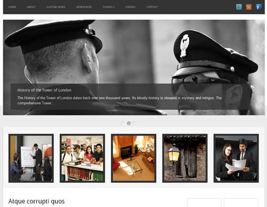 wpid 27free wordpress themes 2012 45+ Free WordPress Themes 