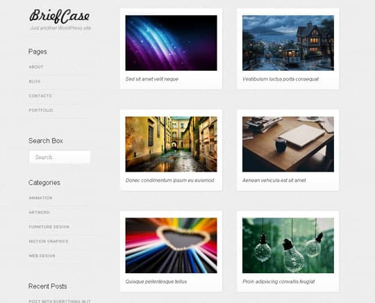 wpid 43free wordpress themes 2012 45+ Free WordPress Themes 