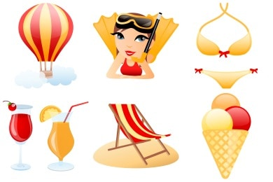 wpid 6free holiday icons 50+ Free Summer Holiday Icons For Designers