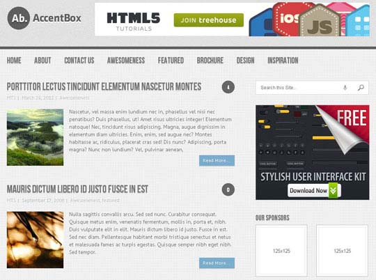 wpid 6free wordpress themes 2012 45+ Free WordPress Themes 