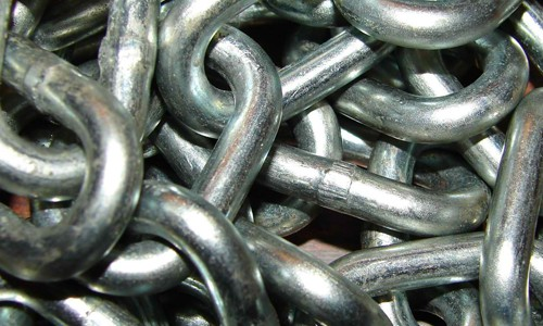 Steel Metal Chain Texture