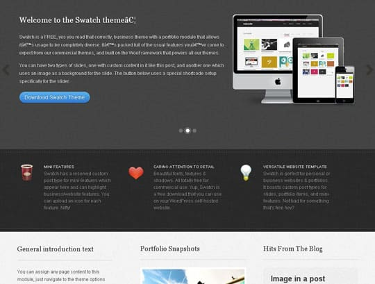 wpid 9free wordpress themes 2012 45+ Free WordPress Themes 