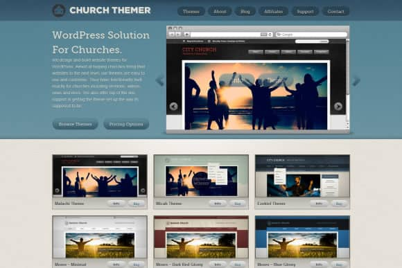 wpid Church Themer 15+ Resources for Churches Using WordPress