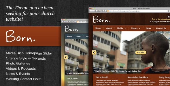 wpid born 15+ Resources for Churches Using WordPress