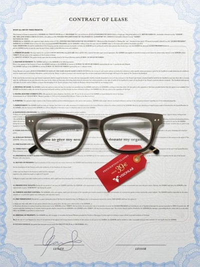 wpid glasses contract creative advertisements 40+ Mind blowing Advertisements That Will Boost Your Creativity