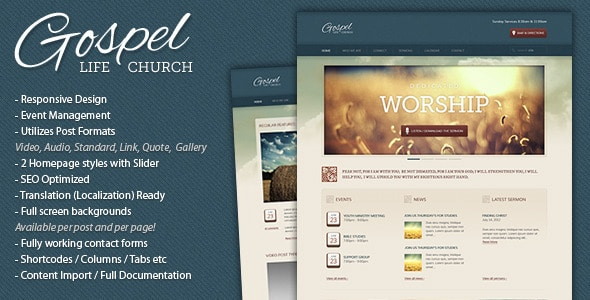 wpid gospel 15+ Resources for Churches Using WordPress