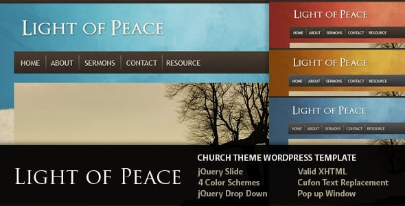wpid light of peace 15+ Resources for Churches Using WordPress