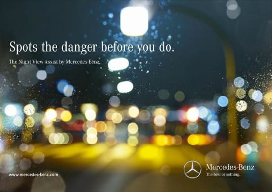 wpid mercedes child creative advertisements 40+ Mind blowing Advertisements That Will Boost Your Creativity