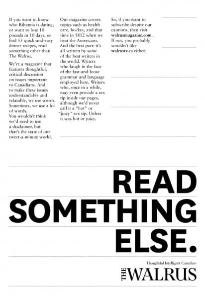 wpid read creative advertisements 40+ Mind blowing Advertisements That Will Boost Your Creativity