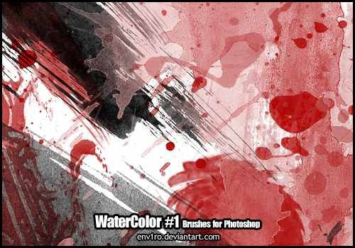 wpid watercolor 01thumb 50+ Water Brushes and Watercolor Brush Sets for Photoshop