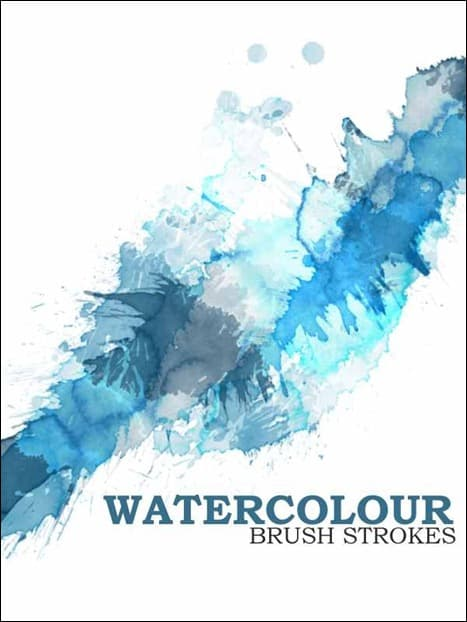 wpid watercolor photoshop brushes thumb 50+ Water Brushes and Watercolor Brush Sets for Photoshop