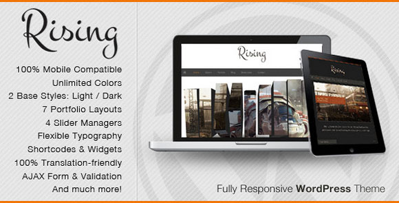 wpid wordpresstheme 1 50 Top WordPress Themes Released in 2012