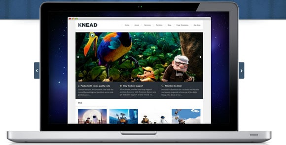 wpid wordpresstheme 10 50 Top WordPress Themes Released in 2012
