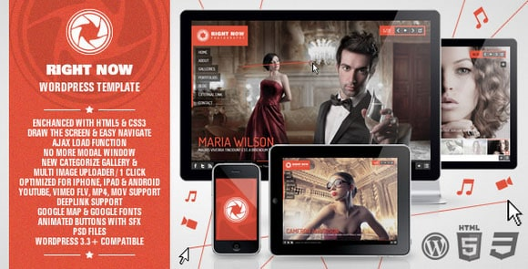 wpid wordpresstheme 2 50 Top WordPress Themes Released in 2012