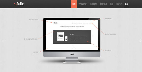 wpid wordpresstheme 21 50 Top WordPress Themes Released in 2012