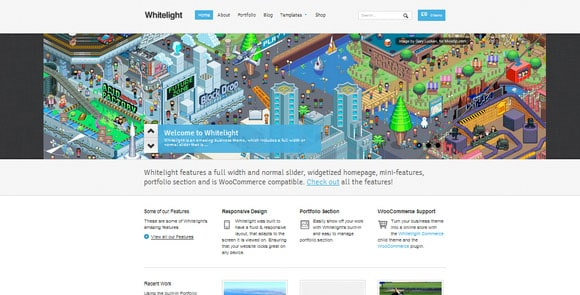 wpid wordpresstheme 25 50 Top WordPress Themes Released in 2012