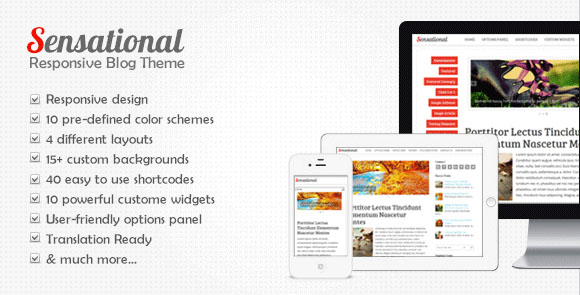 wpid wordpresstheme 28 50 Top WordPress Themes Released in 2012