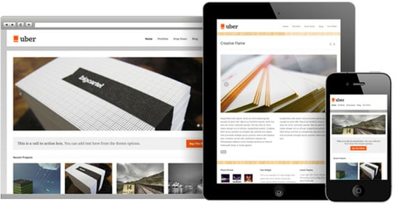 wpid wordpresstheme 30 50 Top WordPress Themes Released in 2012