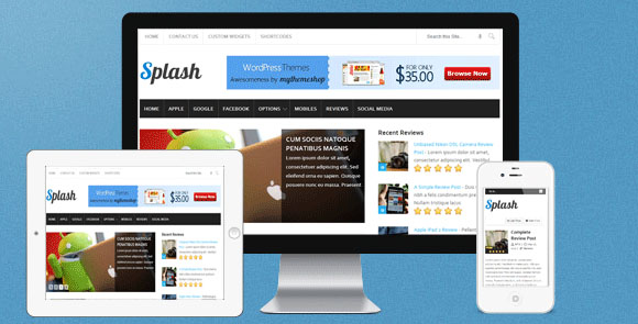 wpid wordpresstheme 31 50 Top WordPress Themes Released in 2012