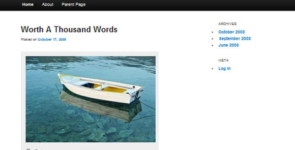 wpid wordpresstheme 36 50 Top WordPress Themes Released in 2012