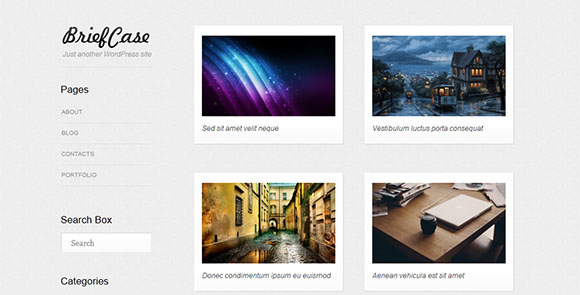 wpid wordpresstheme 37 50 Top WordPress Themes Released in 2012