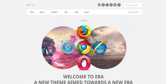 wpid wordpresstheme 4 50 Top WordPress Themes Released in 2012