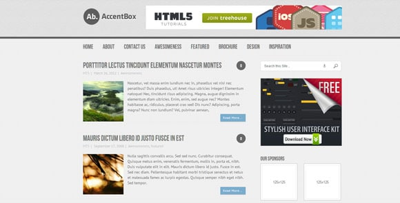 wpid wordpresstheme 40 50 Top WordPress Themes Released in 2012
