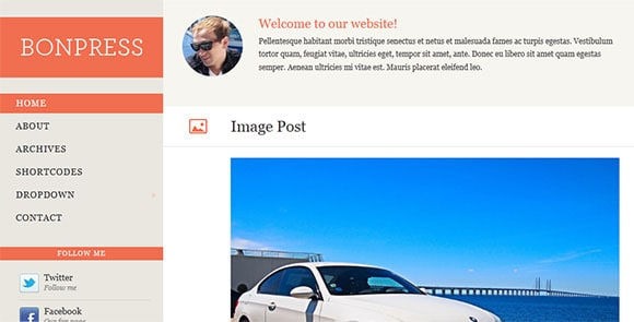 wpid wordpresstheme 46 50 Top WordPress Themes Released in 2012