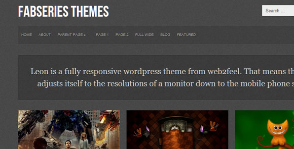 wpid wordpresstheme 47 50 Top WordPress Themes Released in 2012