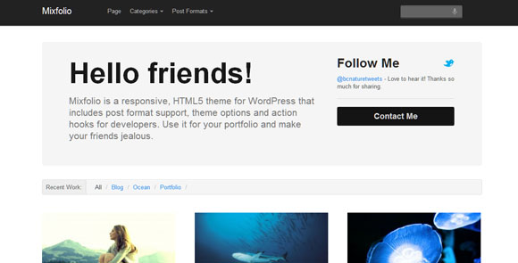 wpid wordpresstheme 49 50 Top WordPress Themes Released in 2012
