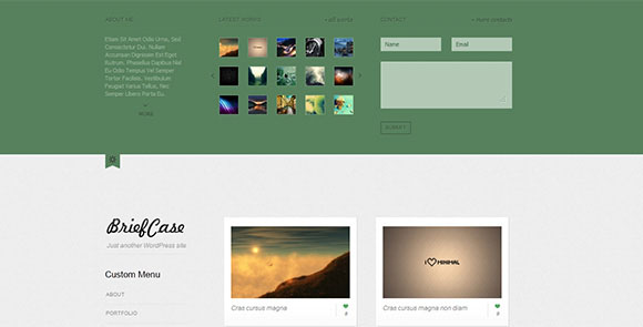 wpid wordpresstheme 5 50 Top WordPress Themes Released in 2012