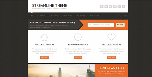 wpid wordpresstheme 7 50 Top WordPress Themes Released in 2012