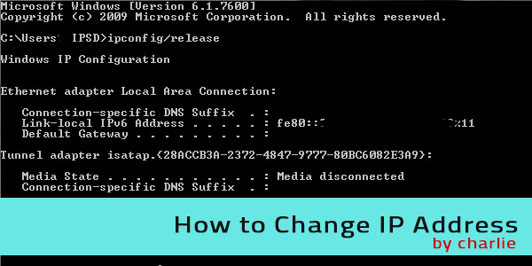 How to Change IP Address How to Change IP Address