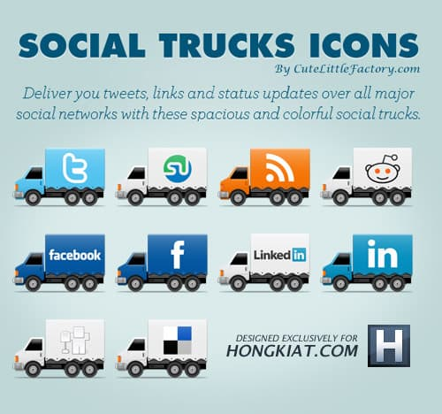 image 2 A collection of free social media icon sets