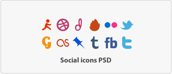 image 5 A collection of free social media icon sets