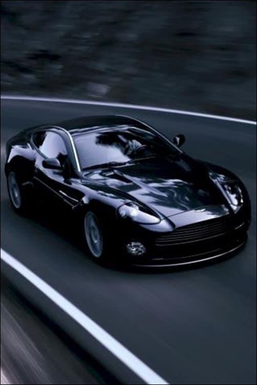 Aston-Martin-Vanquish iphone wallpapers