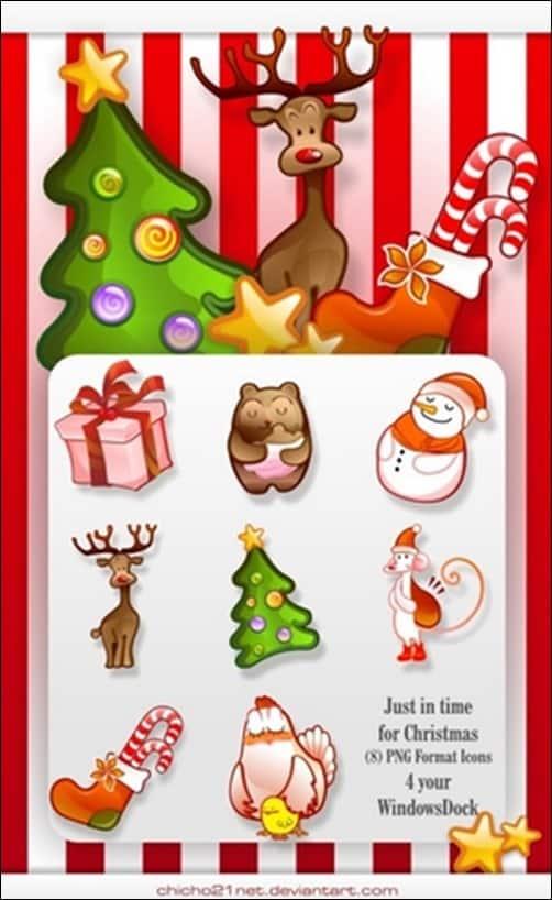 Christmas-Dock-Icons