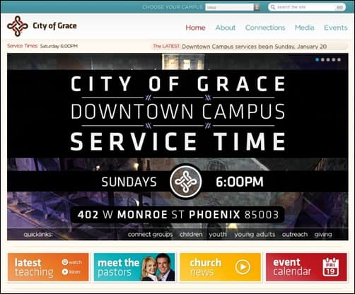 City-of-Grace-church-websites