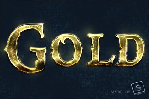 Create-a-Shiny,-Gold,-Old-World-Text-Effect-in-Photoshop