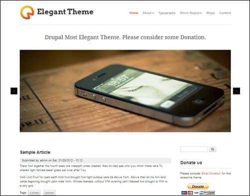 Elegant-Theme-drupal-7-theme